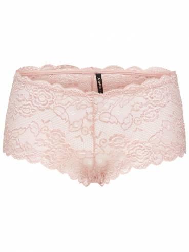 Pack de 2 braguitas de encaje rosas - ONLY - 15157670