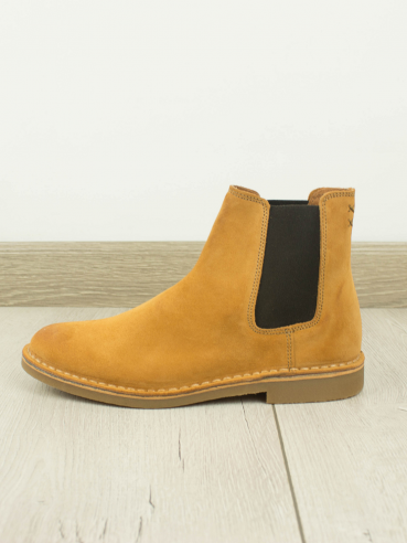 BOTAS DE PIEL TIPO CHELSEA MARRONES - SELECTED - 16063426
