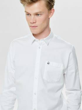 Mason Camisa básica blanca - Only and sons - 22011701