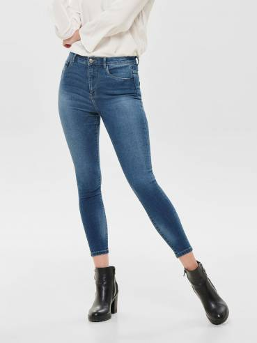 Jeans petra skinny fit de talle alto- ONLY - 15168583