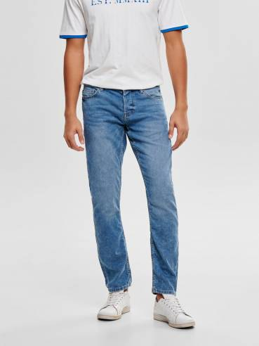 Loom jeans slim fit azul claro - only and sons - 22012024