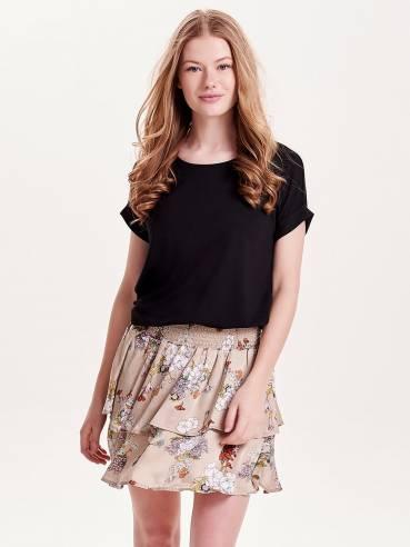 Moster camiseta de corte holgado negra - Only - 15106662