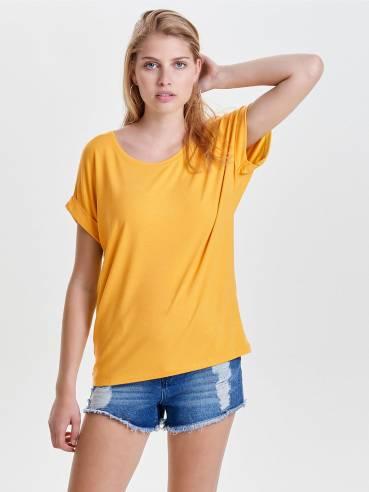 Moster camiseta de corte holgado amarilla - Only - 15106662
