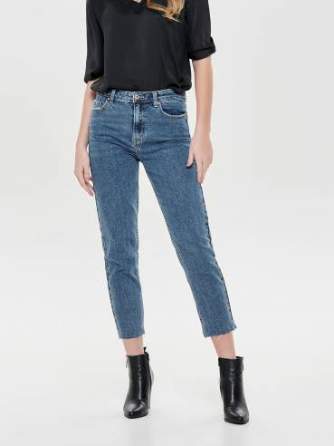 Emily jeans straight fit de talle alto - Only - 15171549