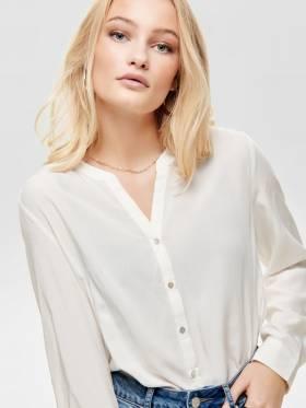 Sugar Camisa blanca de Corte Holgado - Only - 15161698