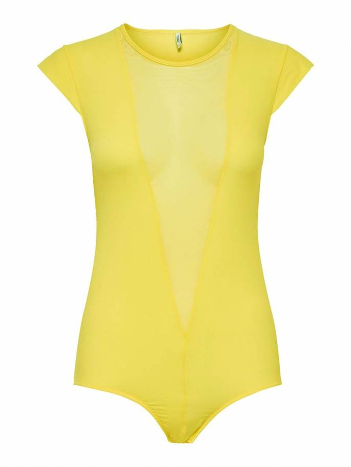 Candy Body Ajustado amarillo - Only - 15171699