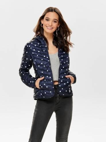 Demi chaqueta acolchada con capucha - Only - 15168838