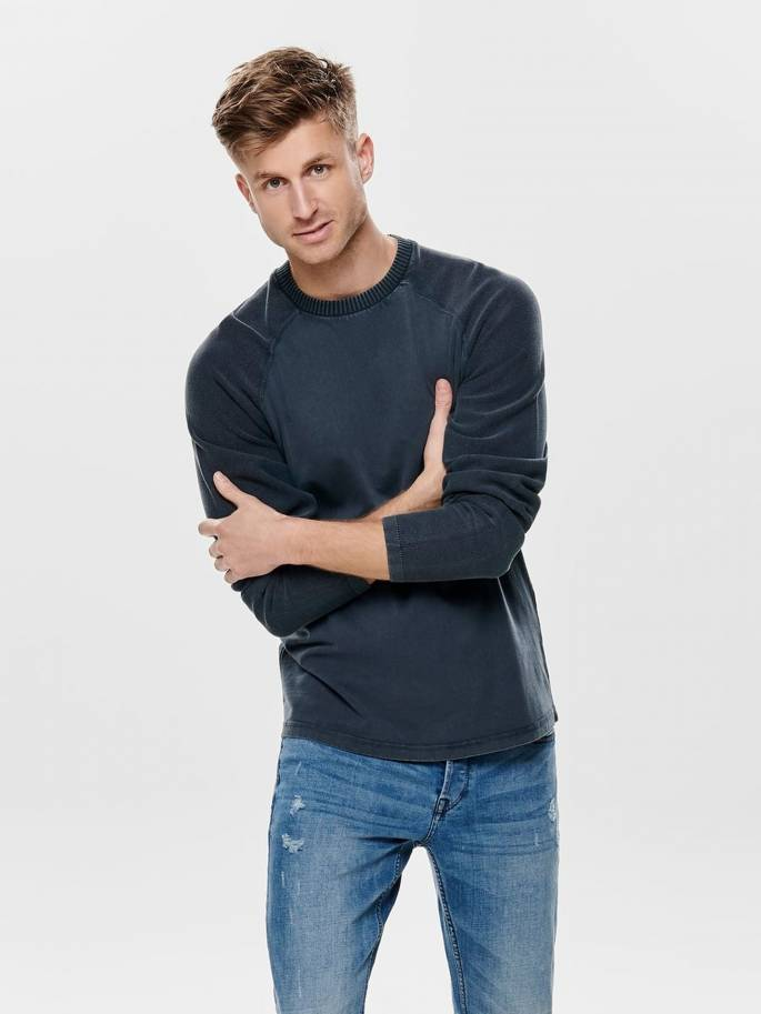 Wincent sudadera con textura - Only and sons - 22012112 - Uesti