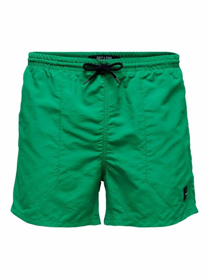 Tino bañador verde unicolor - Only&Sons - 22012171 - Uesti