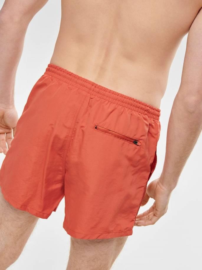 Tino bañador naranja unicolor - Only&Sons - 22012171 - Uesti