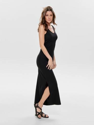 Maxidress básico negro - Only - 15176104 - Uesti