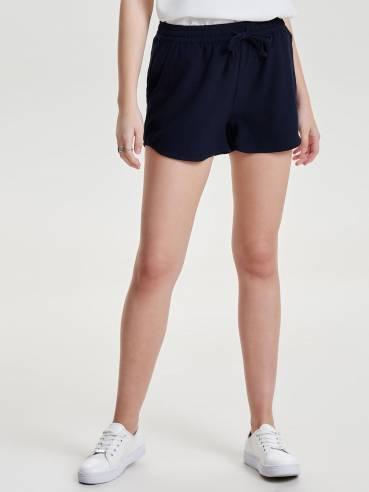 Shorts monocolor azul marino - ONLY - 15123924 - Uesti
