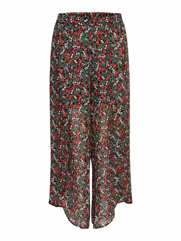 Pantalón con estampado de flores - Only - 15179674 - Uesti