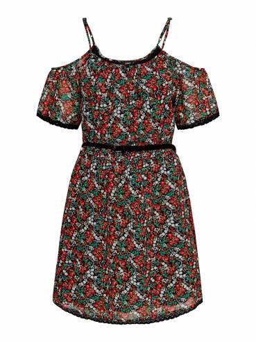 Vestido corto con estampado de flores - Only - Uesti