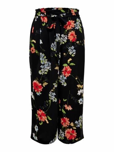 Pantalón de corte holgado con estampado de flores - Only - Uesti