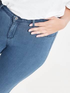 Jeans skinny fit de mujer talla grande - Uesti