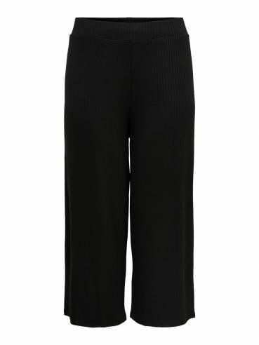 Pantalón tipo cropped de tallas grandes para mujer - Uesti