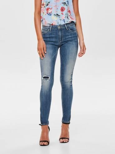 Kendell jeans skinny fit con cremmallera en los tobillos - Only - Uesti