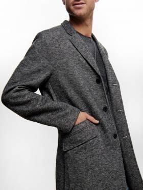 Abrigo de chico clásico con cierre frontal - Only & sons - 22012280 - Uesti