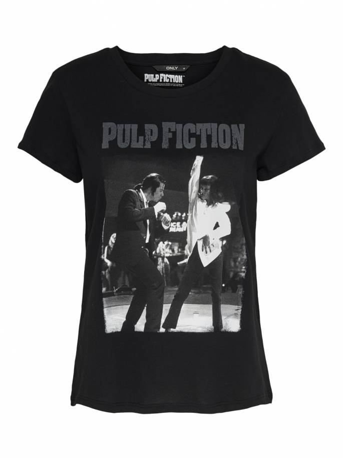 Camiseta uma thurman bailando con john travolta - Pulp fiction - Only