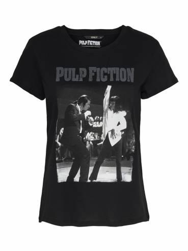 Camiseta uma thurman bailando con john travolta - Pulp fiction - Only
