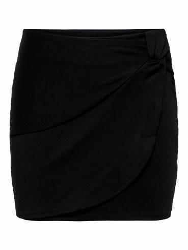 Falda corta con anudado frontal - Only - 15197669 - Uesti