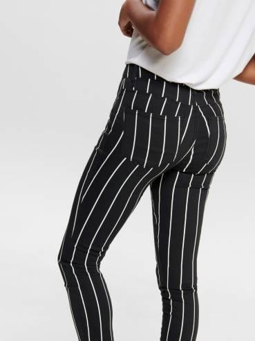 Pantalón con estampado de rayas - Only - 15191442