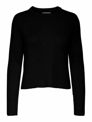 Jersey de corte corto color negro - Uesti