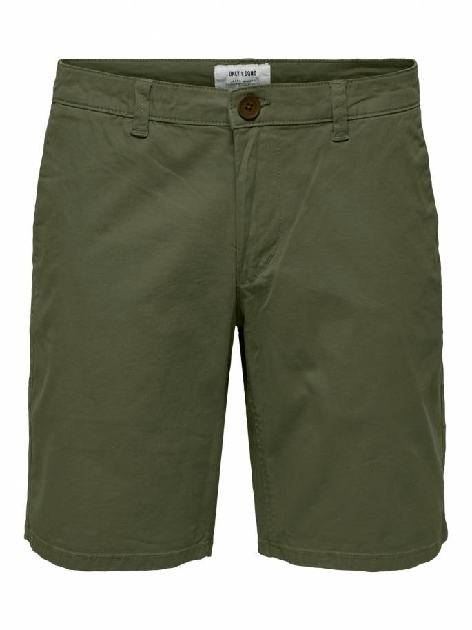 Cam shorts chinos verde - Only and sons - 22014978 - Uesti
