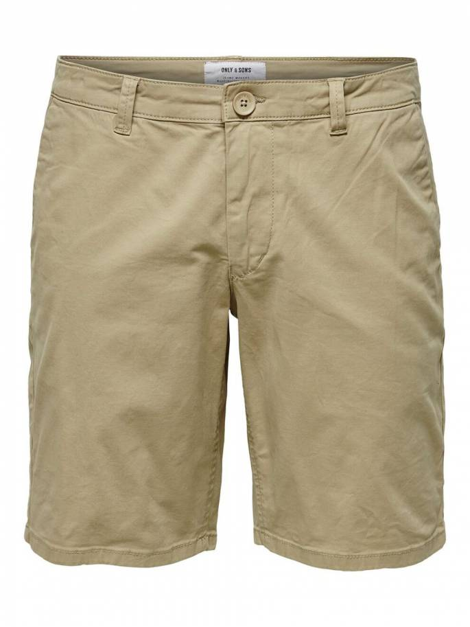 Cam shorts chinos camel - Only and sons - 22014978 - Uesti