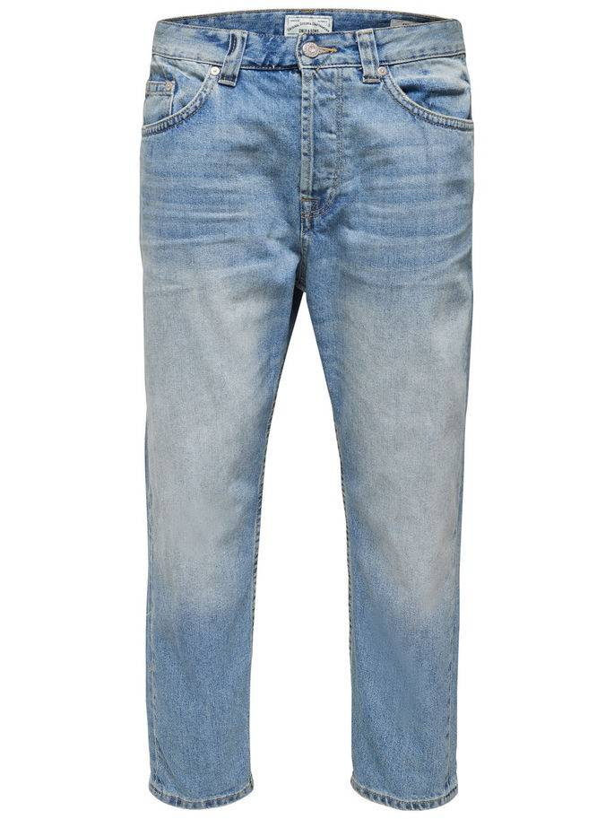 JEANS - CARROT - LIGHT BLUE DENIM