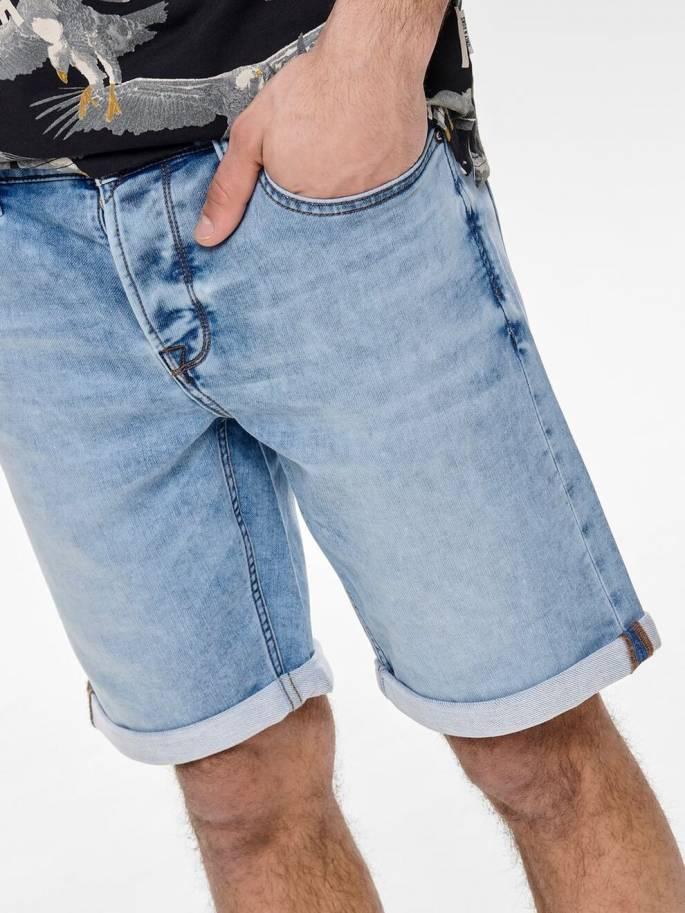 Ply blue shorts vaqueros cortos - Hombre - Uesti