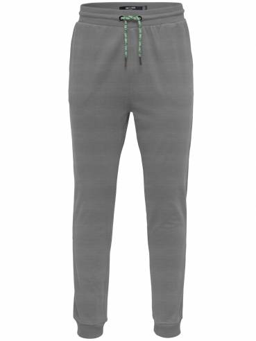 De tipo chandal pantalones básicos gris - Only and sons - 22016496