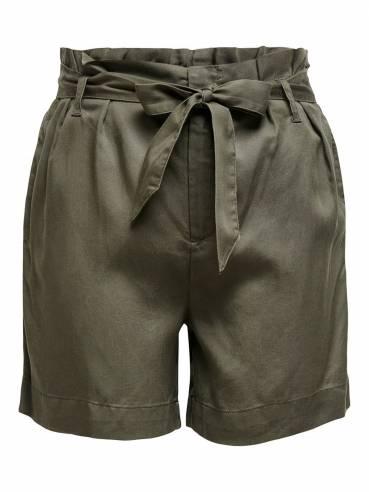 Shorts de talle alto - ONLY - 15151645 - Uesti