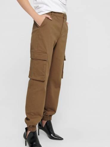 Pantalones De Tipo Cargo Mujer Uesti
