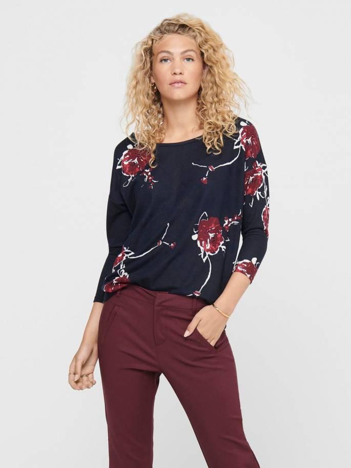 Elcos jersey con estampado de flores - Mujer - Uesti