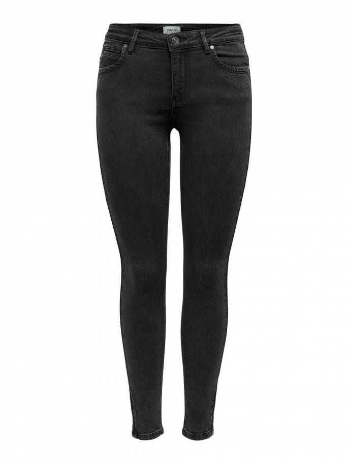 Kendell jeans skinny fit con cremallera en los tobillos - Mujer - Uesti