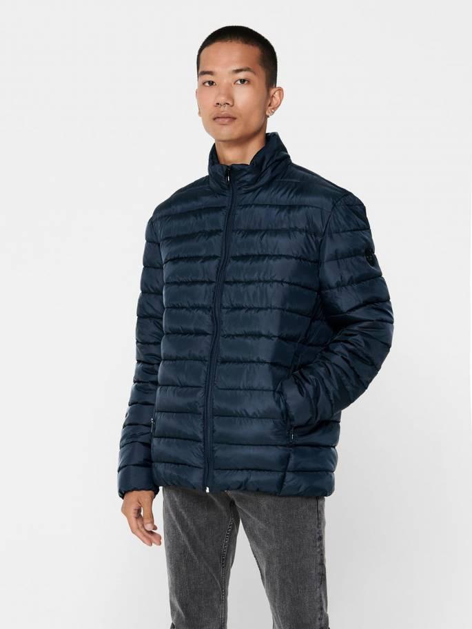 De estilo plumas chaqueta acolchada - Only and Sons - 22013231 - Uesti