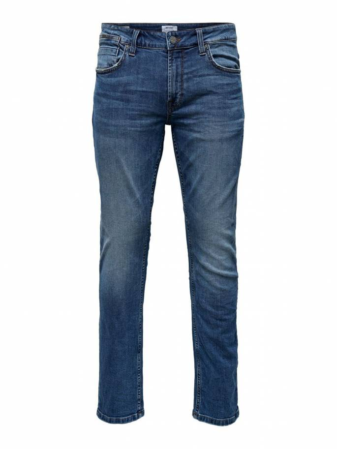 Jeans Regular Fit de color azul - Hombre - Uesti