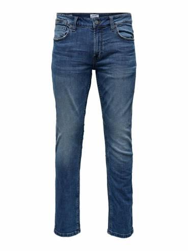 Jeans Regular Fit de color azul - Hombre - Uesti