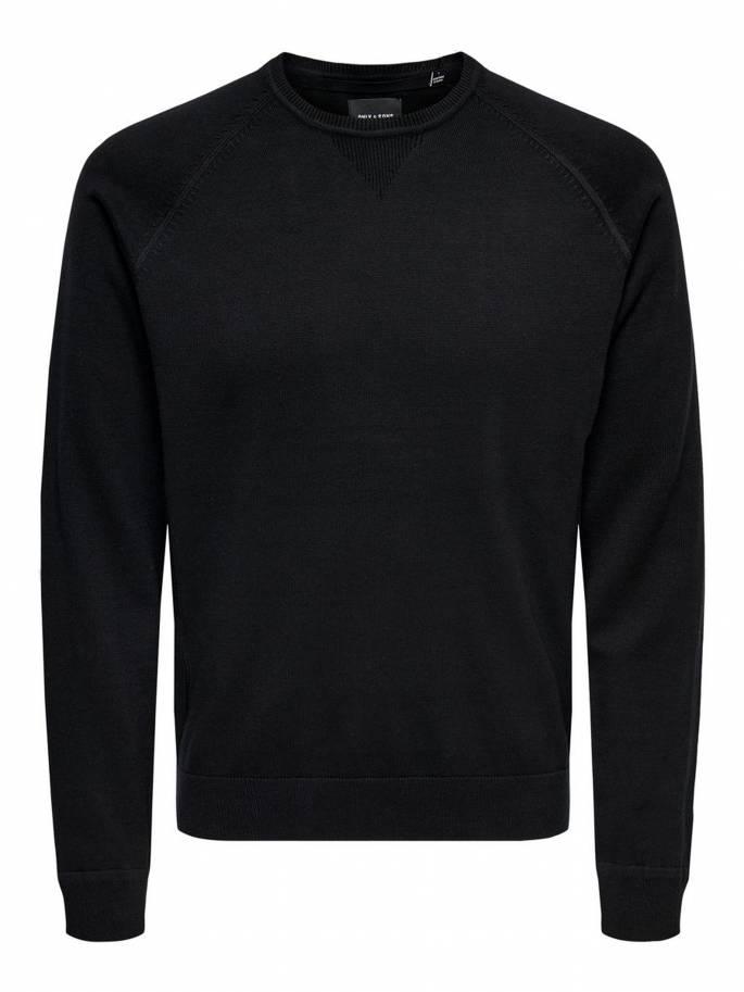 Jersey de punto color negro - Hombre - Uesti