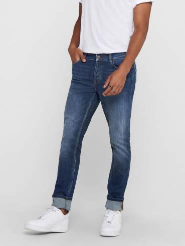 Loom life blue jeans slim fit - Hombre - Uesti