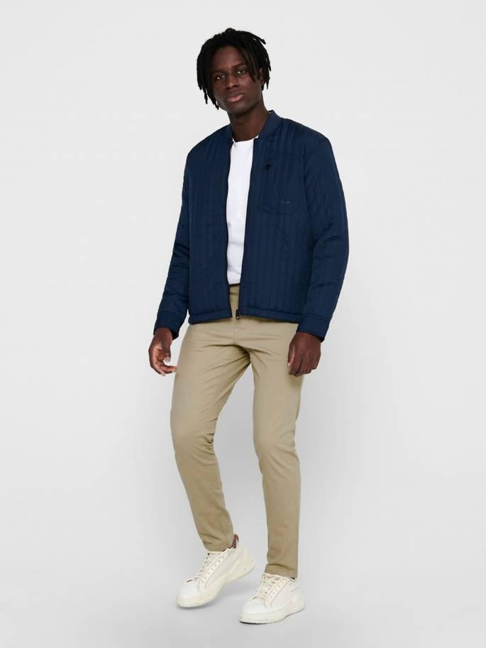 De estilo bómber - chaqueta acolchada - Hombre - Uesti