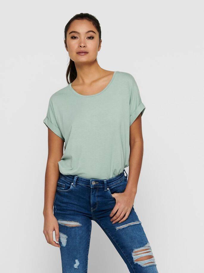 Moster camiseta de corte holgado gris - Only - 15106662