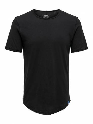 Camiseta básica de corte largo -  Hombre - Uesti