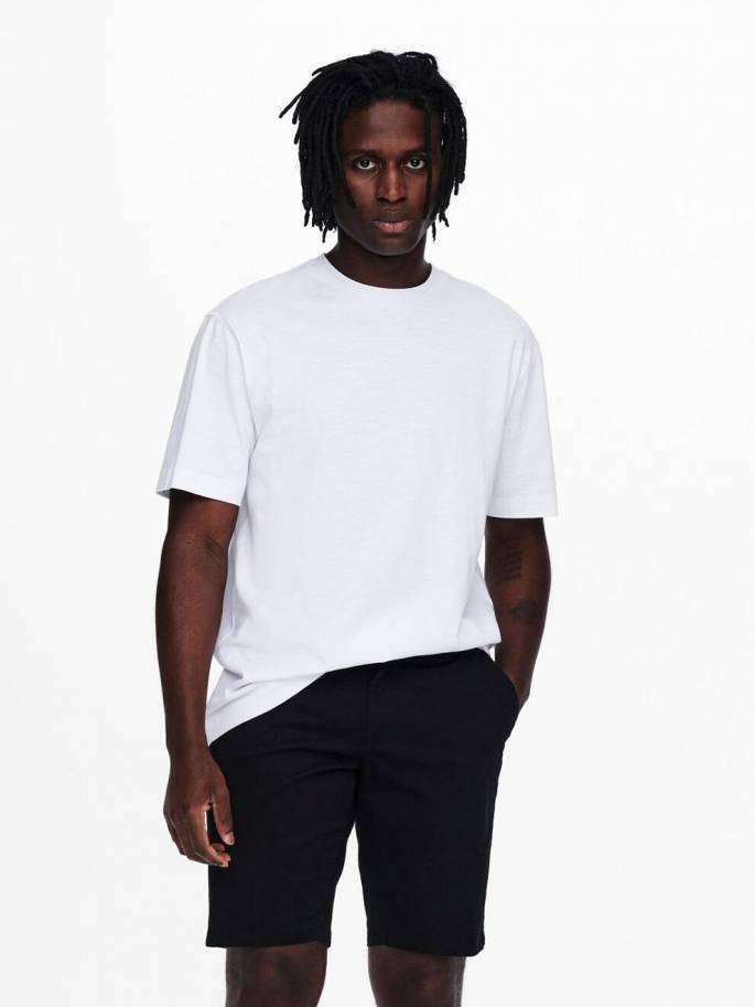 Camiseta de corte oversize -  Hombre - Uesti