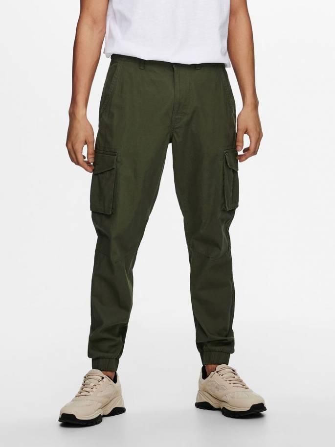 Pantalón cargo verde - Hombre - UESTI