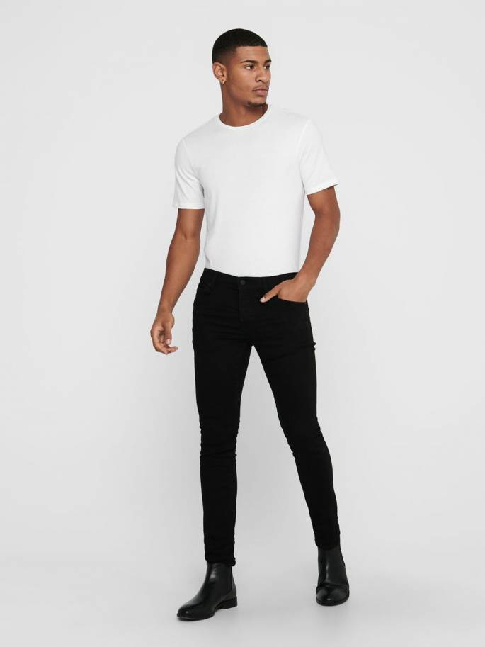 VAQUEROS LOOM SLIM FIT - ONLY AND SONS - 22010431