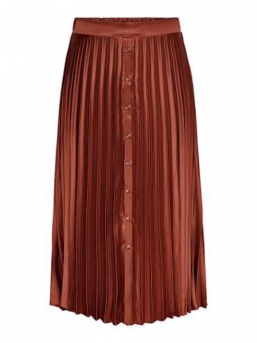 Falda de raso plisada - Uesti - Only - 15213958